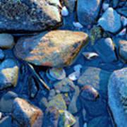 Beach Rocks Art Print