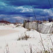 Beach Storm Art Print