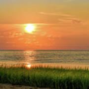 Beach Sunset Glory Art Print