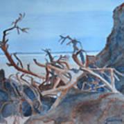 Beach Tangle Art Print