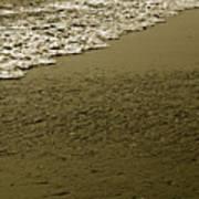 Beach Texture Art Print