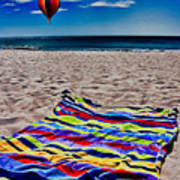 Beach Towel Art Print