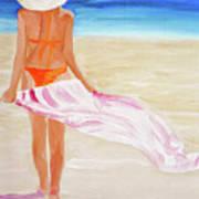 Beach Towel Art Print
