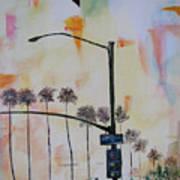 Beach Traffic - Sold Art Print