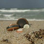 Beach Treasures 1 Art Print