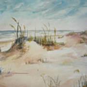 Beach Walk Art Print by Dorothy Herron