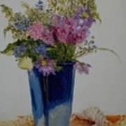 Beach Wildflowers            Copyrighted Art Print