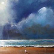 Beach Wish Art Print