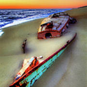 Beached Beauty Art Print by Dan Carmichael
