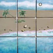 Beaches Cubed Art Print
