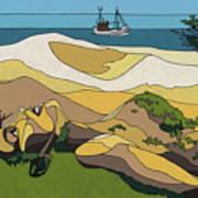 Beaches Art Print