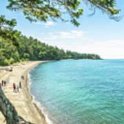 Beaches Of The Pacific Northwest Art Print
