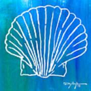 Beachside Shell Art Print