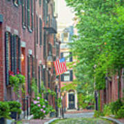 Beacon Hill Art Print by Susan Cole Kelly