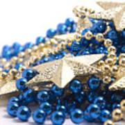Beads And Stars Art Print