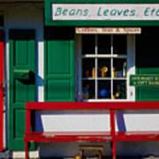 Beans, Leaves, Etc. Art Print