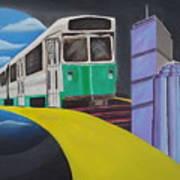 Beantown Transit Art Print