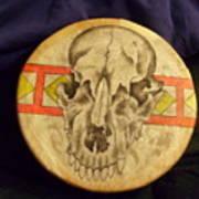 Bear Drum Art Print