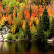Bear Lake Autumn Art Print