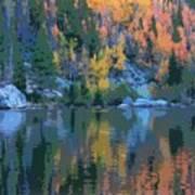 Bear Lake Colorado Poster Art Print