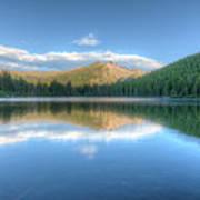 Bear Lake In Rocky Mountain National Park 2x1 Art Print