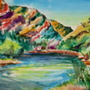 Bear Lake In Utah Art Print