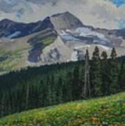 Bear Peak Art Print