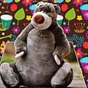 Bear Playtime Art Print