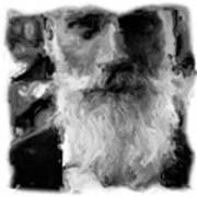 Bearded Man Art Print