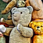 Bears For Sale Art Print