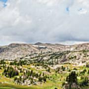 Beartooth Mountains Panorama Art Print