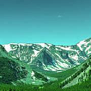 Beartooth Mountains Art Print