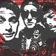 Beastie Boys Graffiti Tribute Art Print