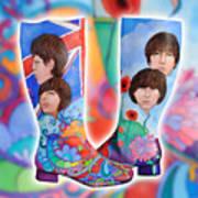 Beatle Boots Art Print