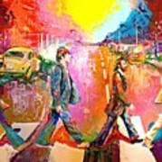 Beatles Abbey Road  Art Print