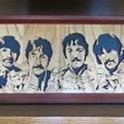Beatles Sgt Pepper Art Print
