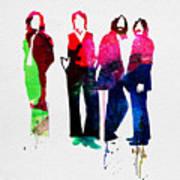 Beatles Watercolor Art Print
