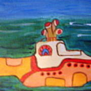Beatles Yellow Submarine   Art Print