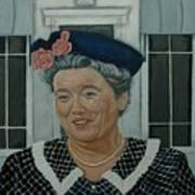 Beatrice Taylor As Aunt Bee Print by Tresa Crain