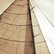 Beaufort Sails 1 Art Print
