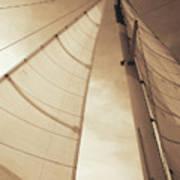 Beaufort Sails 2 Art Print