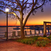 Beaufort Waterfront Art Print