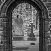 Beauly Priory Arch Art Print