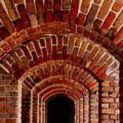 Beautiful Brick Art Print