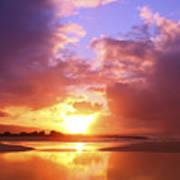Beautiful Bright Sunset Art Print