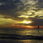Beautiful Clearwater Sunset Art Print
