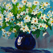 Beautiful Daisies  Art Print by Patricia Awapara