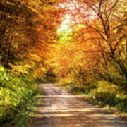 Beautiful Fall Day Art Print