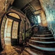 Beautiful Forgotten Staircase Art Print