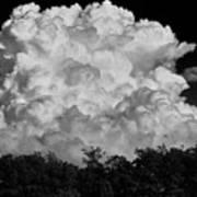 Beautiful Full Cloud Art Print